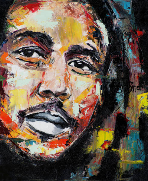 Different Painting - Bob Marley II by Richard Day
