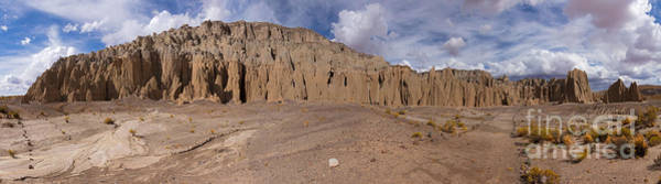 Photograph - Bolivia Rock Pinnacles Panorama by Warren Photographic