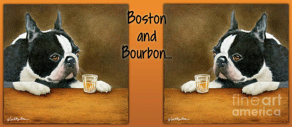Painting - Boston And Bourbon by Will Bullas