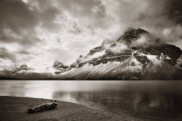 Photograph - Bow Lake by Songquan Deng