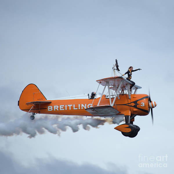 Wall Art - Photograph - Breitling Wing Walker by Smart Aviation