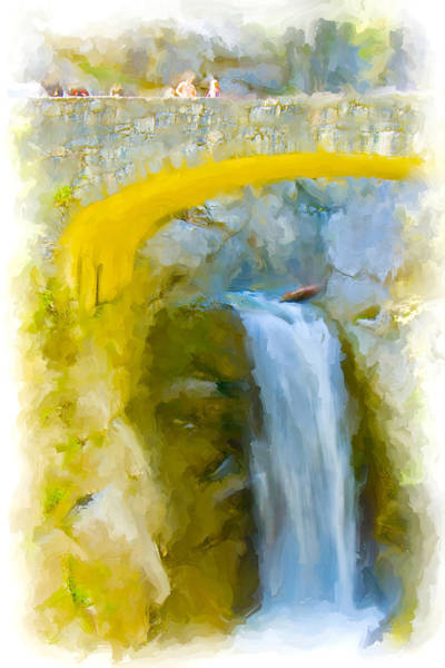 Chs Digital Art - Bridge Over Troubled Waters by Ches Black