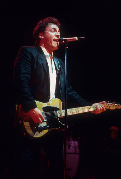 Photograph - Bruce Springsteen by Rich Fuscia