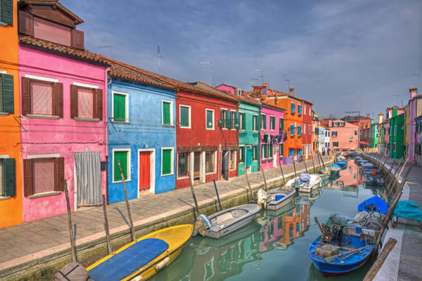 House Beautiful Photograph - Burano - Venice - Italy by Joana Kruse