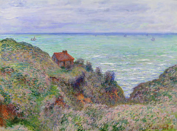 Painting - Cabin Of The Customs Watch by Claude Monet