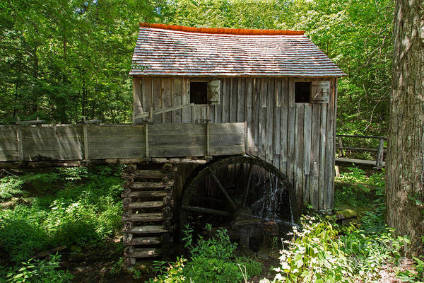 Photograph - Cable Grist Mill by Fred Stearns