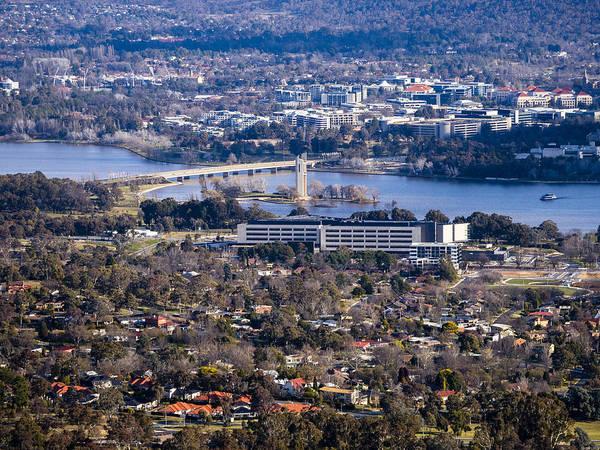 Photograph - Carillon - Canberra - Australia by Steven Ralser