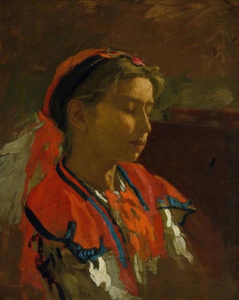 Painting - Carmelita Requena by Thomas Eakins