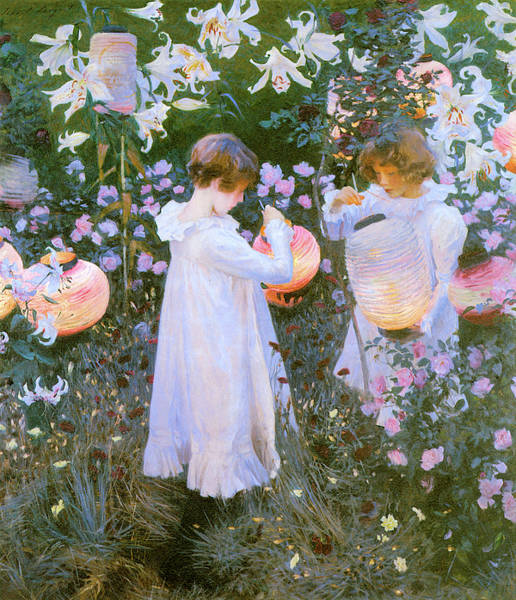 Photograph - Carnation Lily Lily Rose by John Singer Sargent