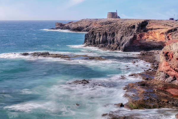 Castillo Wall Art - Photograph - Castillo De Las Coloradas - Lanzarote by Joana Kruse