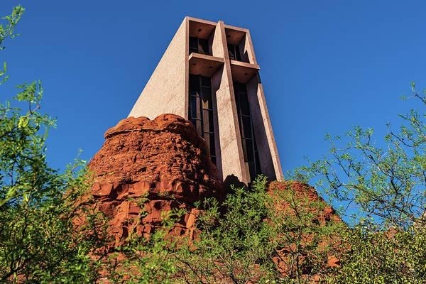 Wall Art - Photograph - Chapel Of The Holy Cross - Sedona - Arizona by Jon Berghoff