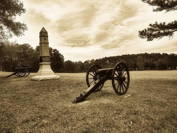 Battleground Photograph - Chickamauga Battlefield by Library Of Congress