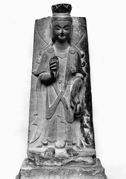 Photograph - China: Bodhisattva by Granger