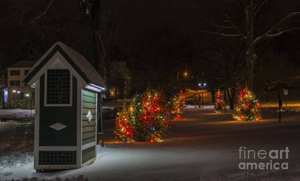 Photograph - Christmas In New Milford by New England Photography