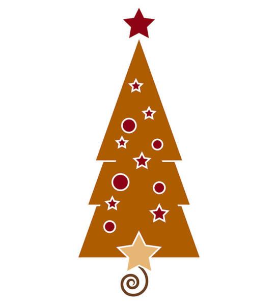 Wall Art - Painting - Christmas Tree by Frank Tschakert