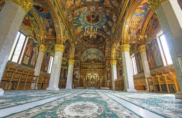 Ortodox Wall Art - Photograph - Church Interior by Cosmin-Constantin Sava
