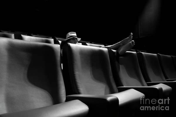 Photograph - Cinema by Mats Silvan