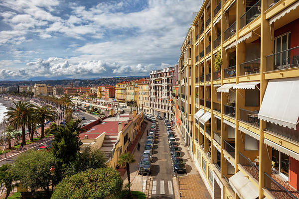 Tenement Photograph - City Of Nice In France by Artur Bogacki
