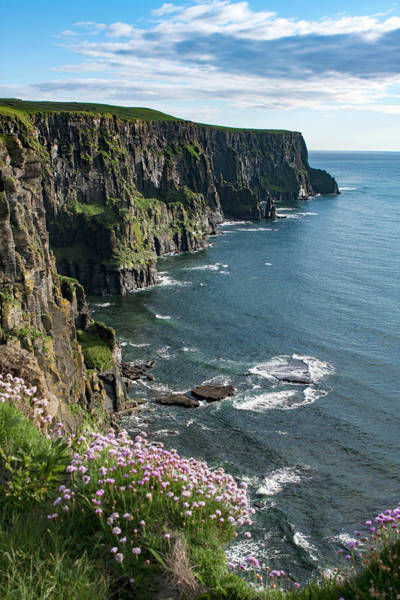 Moher Photograph - Cliffs Of Moher, Clare, Ireland by Aidan Moran