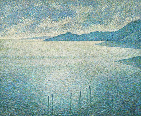 Ocean Scape Painting - Coastal Scene by Theo van Rysselberghe
