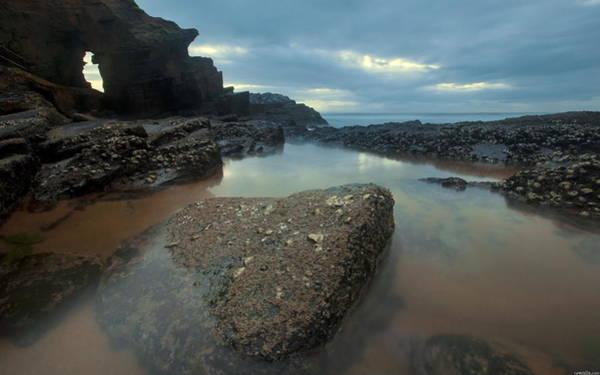 Water Digital Art - Coastline by Maye Loeser