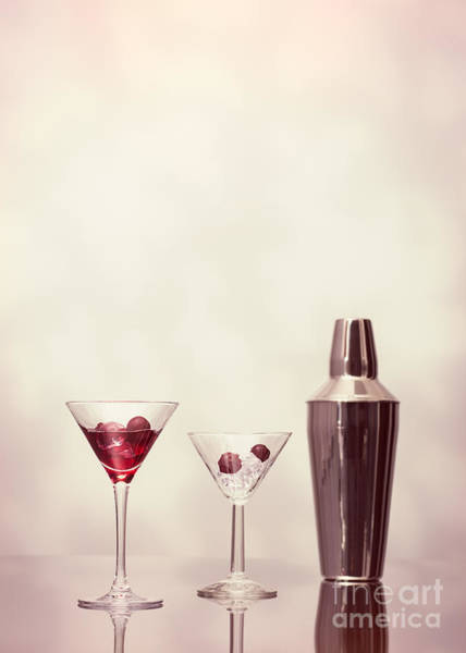Cocktail Shaker Photograph - Cocktails At The Bar by Amanda Elwell