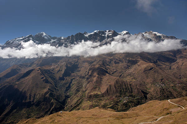 Photograph - Cordillera Real And Illampu by Aivar Mikko
