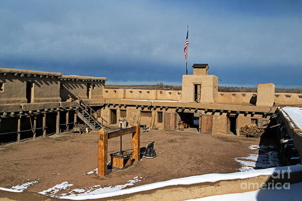 Photograph - Courtyard Of Bents Old Fort by Fred Stearns