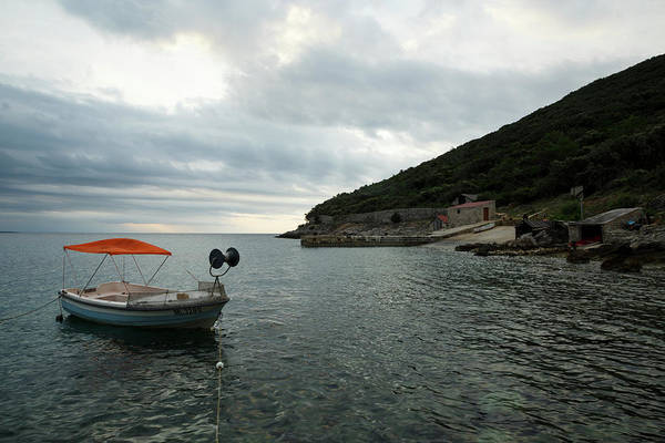 Losinj Photograph - Cunski Beach And Coastline, Losinj Island, Croatia by Ian Middleton
