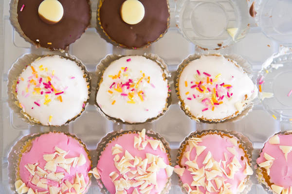 Fairy Cake Wall Art - Photograph - Cup Cakes by Tom Gowanlock
