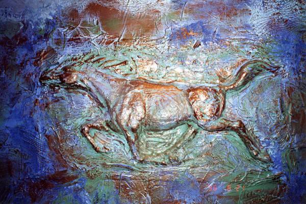 3 D Horse Art Print