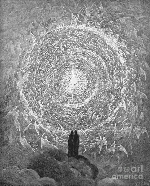 Wall Art - Photograph - Dante Paradise by Gustave Dore