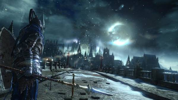Night Digital Art - Dark Souls IIi by Super Lovely