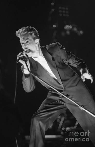 Wall Art - Photograph - David Bowie by Concert Photos