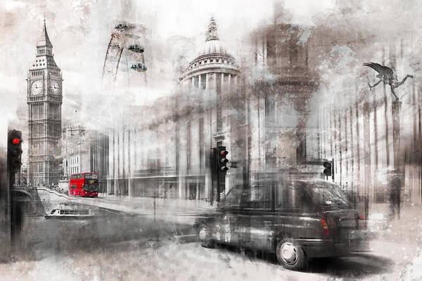 Wall Art - Photograph - Digital-art London Composing by Melanie Viola