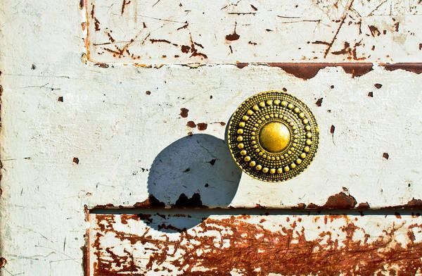 Doorknob Photograph - Door Handle by Tom Gowanlock