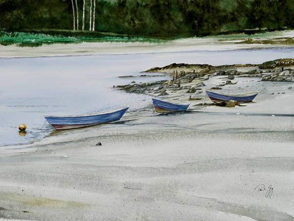 Painting - 3 Dories Kennebunkport by Paul Gaj