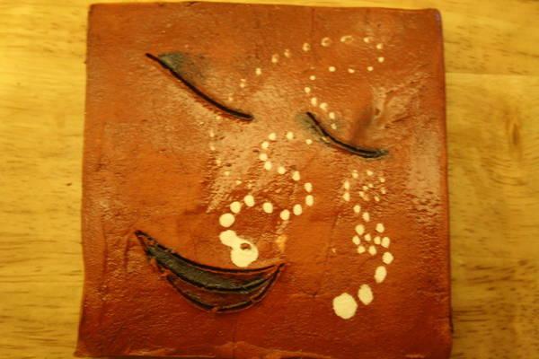 Ceramic Art - Dreams - Tile by Gloria Ssali