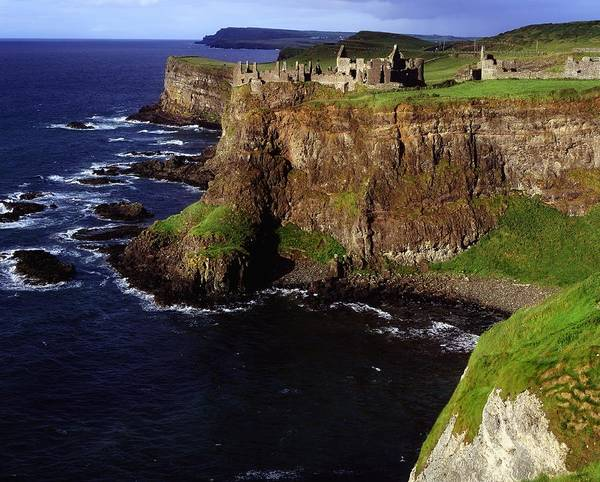 Horizontally Photograph - Dunluce Castle, Co. Antrim, Ireland by The Irish Image Collection