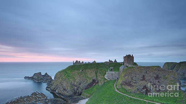 Photograph - Dunnottar Castle At Sunrise by Maria Gaellman