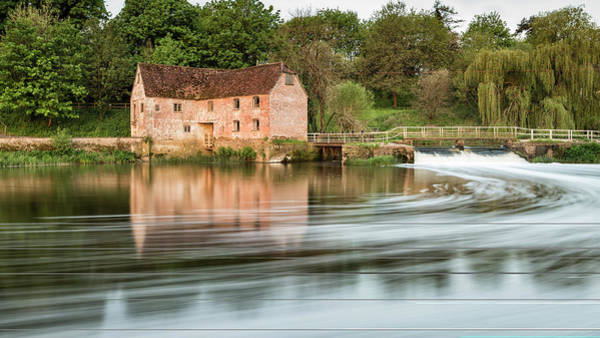 Sturminster Newton Photograph - Early Morning View Across River Stour To Sturminster Newton Mill In Dorset. by Matthew Gibson