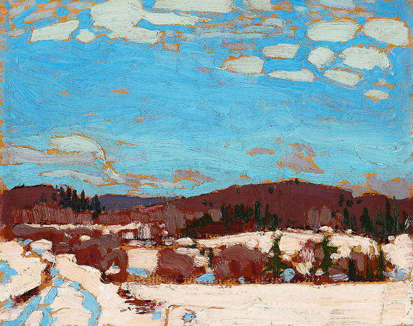 Painting - Early Spring by Tom Thomson