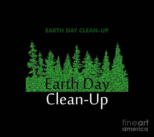 Cityspace Digital Art - Earth Day by Daffa Cils