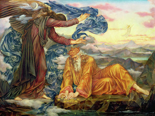 Wall Art - Painting - Earthbound by Evelyn De Morgan