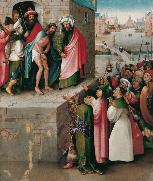 Redeemer Wall Art - Painting - Ecce Homo by Hieronymus Bosch