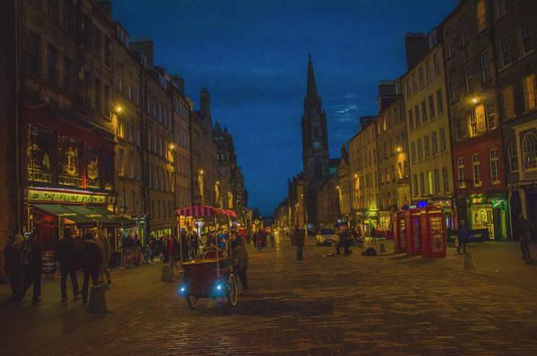 Photograph - Edinburgh By Night by Edyta K Photography