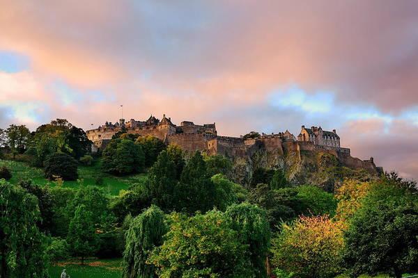 Photograph - Edinburgh Castle by Songquan Deng