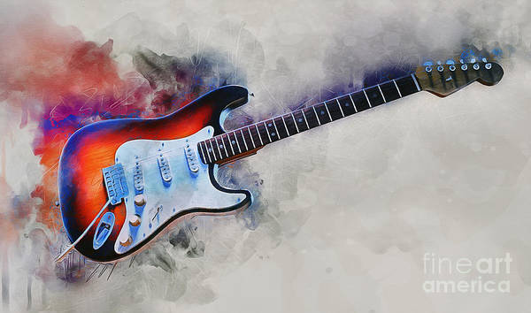 Jewelry - Electric Guitar by Ian Mitchell