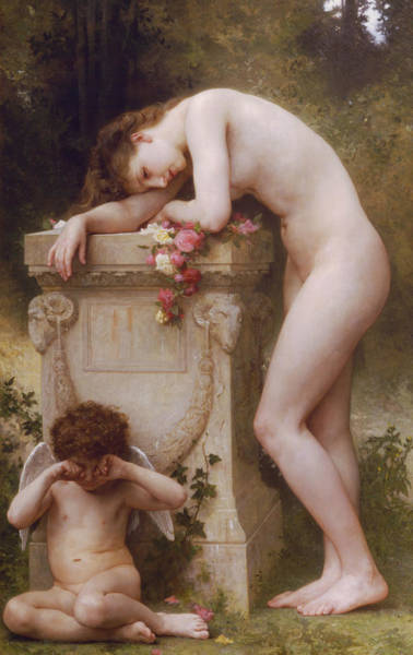 Painting - Elegy  by William-Adolphe Bouguereau