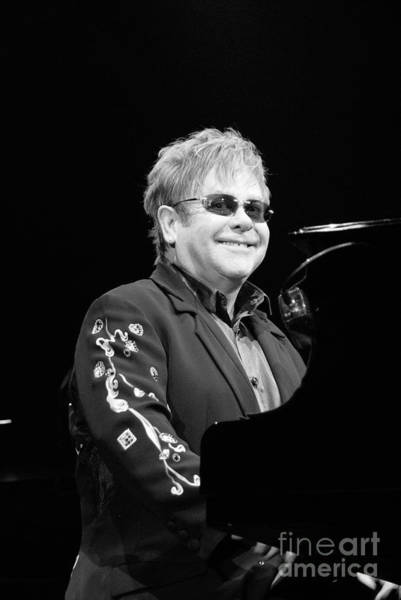 Photograph - Elton John  by Jenny Potter